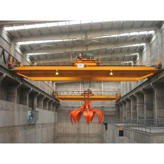 QZ style double girder crane with grab 阅读次数:5999